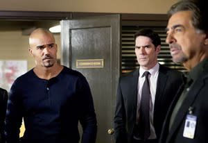 Shemar Moore, Thomas Gibson and Joe Mantegna | Photo Credits: Sonja Flemming/CBS