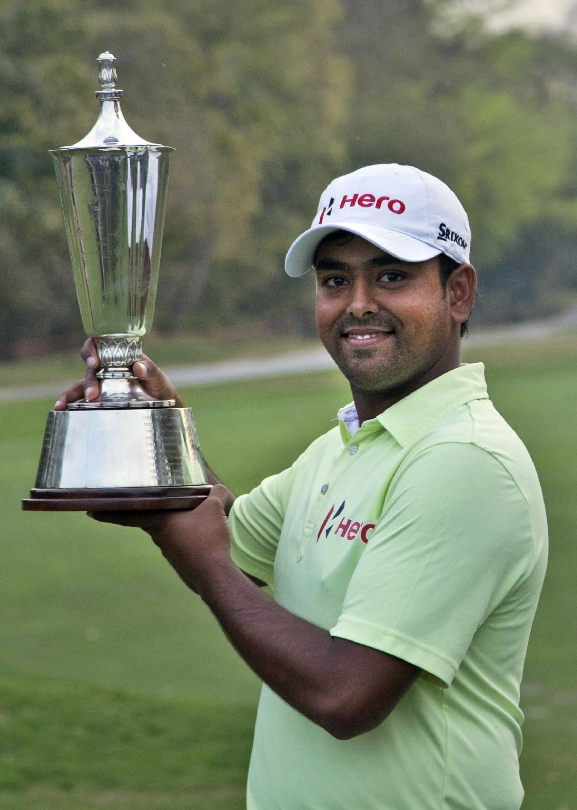 A year after meeting Tiger, Indian golfer on the rise