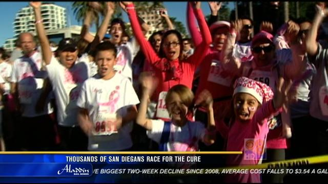 More than 13,000 'Race For The Cure' in San Diego