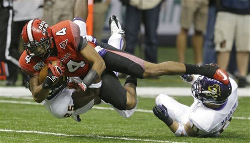 La.-Lafayette tops ECU in New Orleans Bowl, 43-34