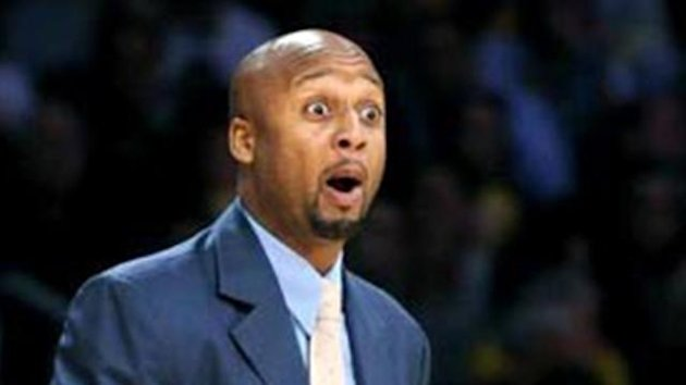 Lakers assistant coach Brian Shaw