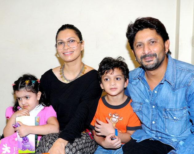 Arshad Warsi Family Very Rare yet cute fam...