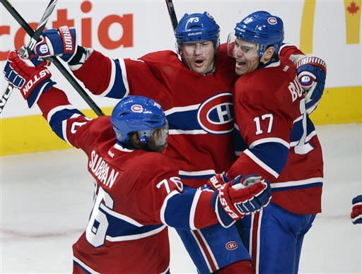 Canadiens top Senators 3-1; series tied