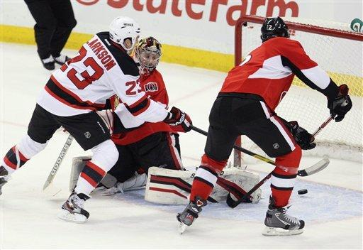 Alfredsson scores OT winner again for Senators
