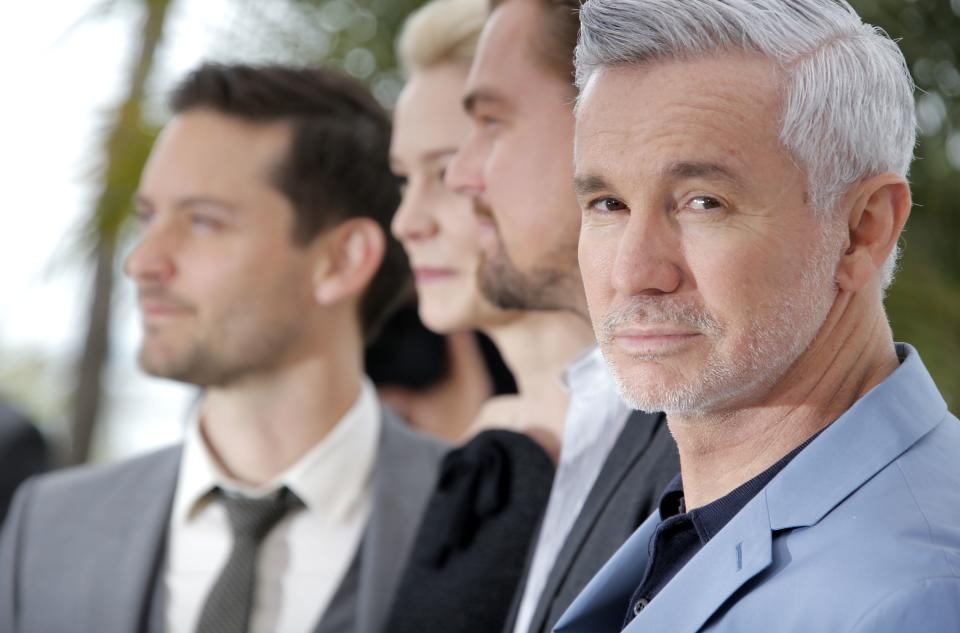 Director Baz Luhrmann poses for photographers during a photo call for film The Great Gatsby at the 66th international film festival, in Cannes, southern France, Wednesday, May 15, 2013. (AP Photo/Francois Mori)
