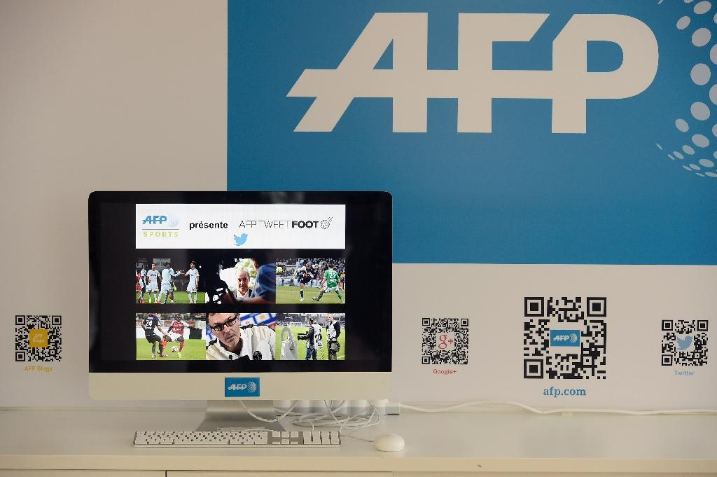 AFP launches football Twitter application