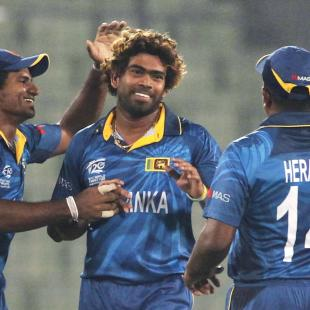 Malinga does the trick again for Sri Lanka