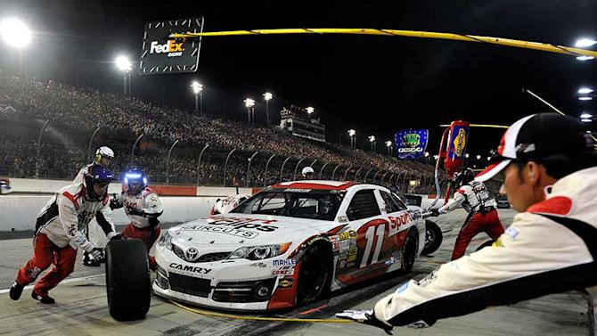 Hamlin finishes second in full-time return