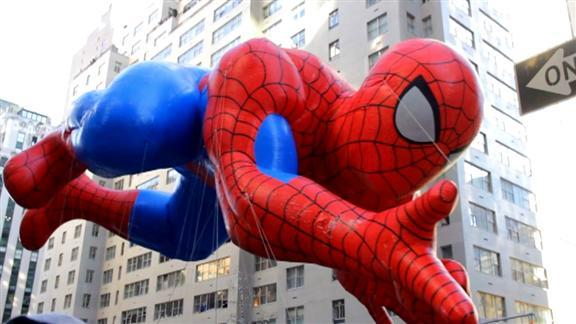 Spider-Man gonflé à bloc pour Thanksgiving