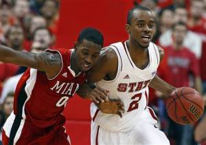 No. 6 NC State beats Miami (Ohio) 97-59 in opener