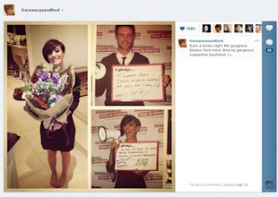 Frankie Sandford Thanks Boyfriend Wayne Bridge For Supporting Her Through Depression
