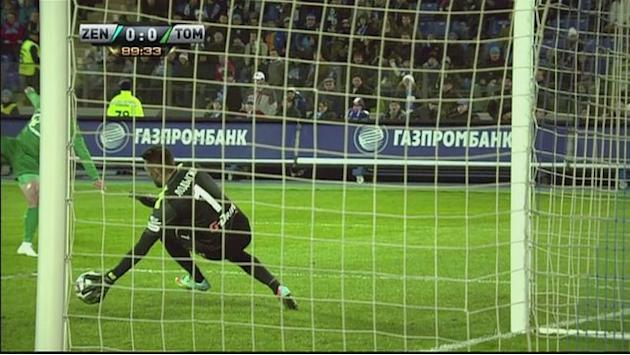 Zenit held by Tom Tomsk.