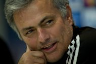 Real Madrid&#39;s Portuguese coach Jose Mourinho gives a press conference in Madrid on December 3, 2012. Cape Verde Islands coach Luis Antunes will have an advantage over his 15 rivals when the 2013 Africa Cup of Nations kicks off in Johannesburg on Saturday. Mourinho agreed that Antunes could spend one week shadowing him as he went about his work