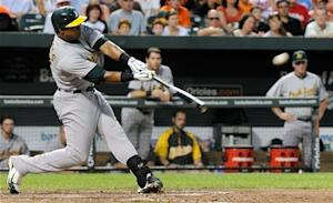 Streaking Athletics cruise past Orioles 6-1