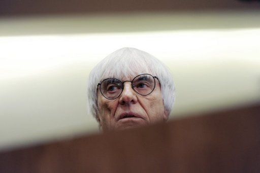 Bernie Ecclestone, CEO and president of F1's governing body, pictured in Munich, in 2011