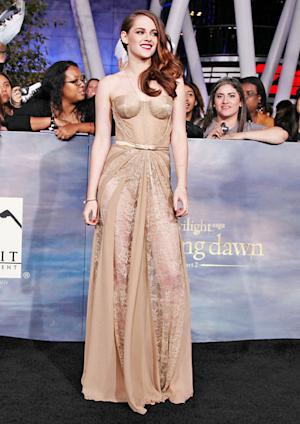 Kristen Stewart's See-Through Corset Dress: Love It or Hate It?