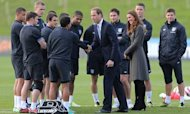 Kate And William Open England Training HQ