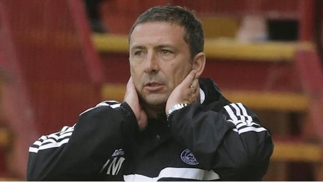 Scottish Football - McInnes pleased with resolute Dons