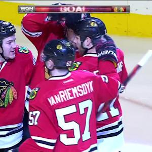 Seabrook's second goal ties game