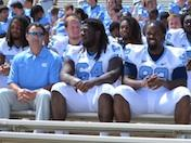Tar Heels at Photo Day