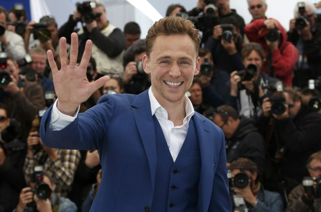 "Cast member Tom Hiddleston poses during a photocall for the film ""Only Lovers Left Alive"" at the 66th Cannes Film Festival"