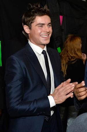 Zac Efron (L) and Michael B. Jordan attend The 40th Annual People's Choice Awards at Nokia Theatre L.A. Live on January 8, 2014 in Los Angeles -- Getty Images