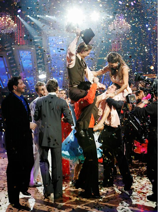 Brooke Burke and her professional partner Derek Hough, were crowned champion of Dancing with the Stars.
