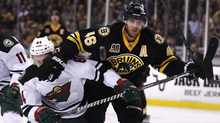 David Krejci, Bruins agree on 6-year blockbuster deal