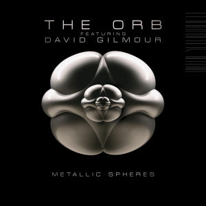 """In this CD cover image released by Columbia Records, the latest release by The Orb featuring David Gilmour """"Metallic Spheres,"""" is shown. (AP Photo/Columbia Records)"""