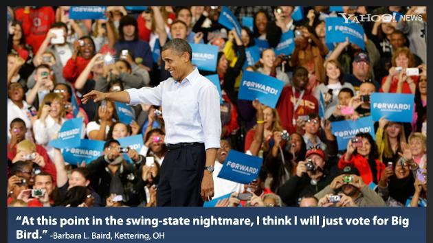 Swing state voters