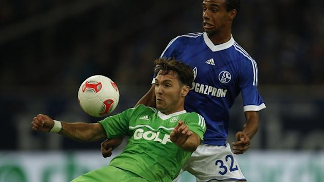 Srdjan Lakic in action for Wolfsburg (Reuters)