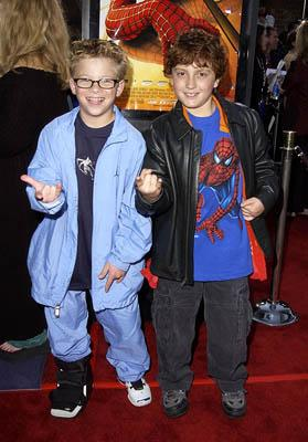 Jonathan Lipnicki and Daryl Sabara at the LA premiere of Columbia Pictures' Spider-Man