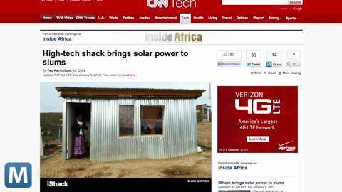 iShack Brings Solar Power, More Amenities to African Slums