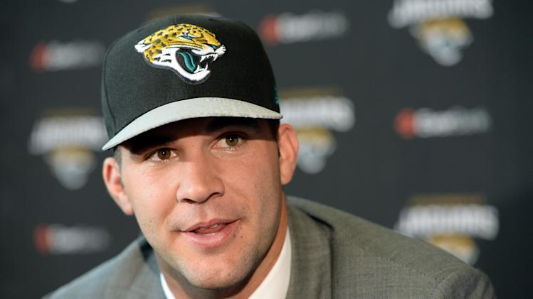 NFL: Jacksonville Jaguars-Blake Bortles Press Conference