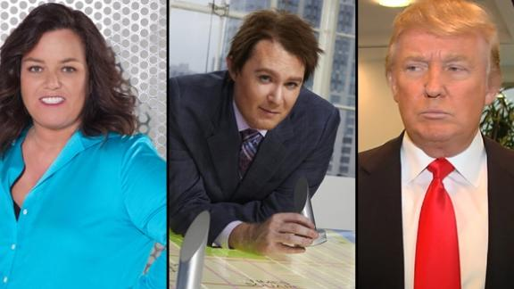 Rosie O'Donnell, Clay Aiken, Donald Trump -- OWN/NBC/Access Hollywood