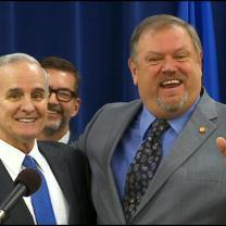 Gov. Dayton, Sen. Bakk End Feud