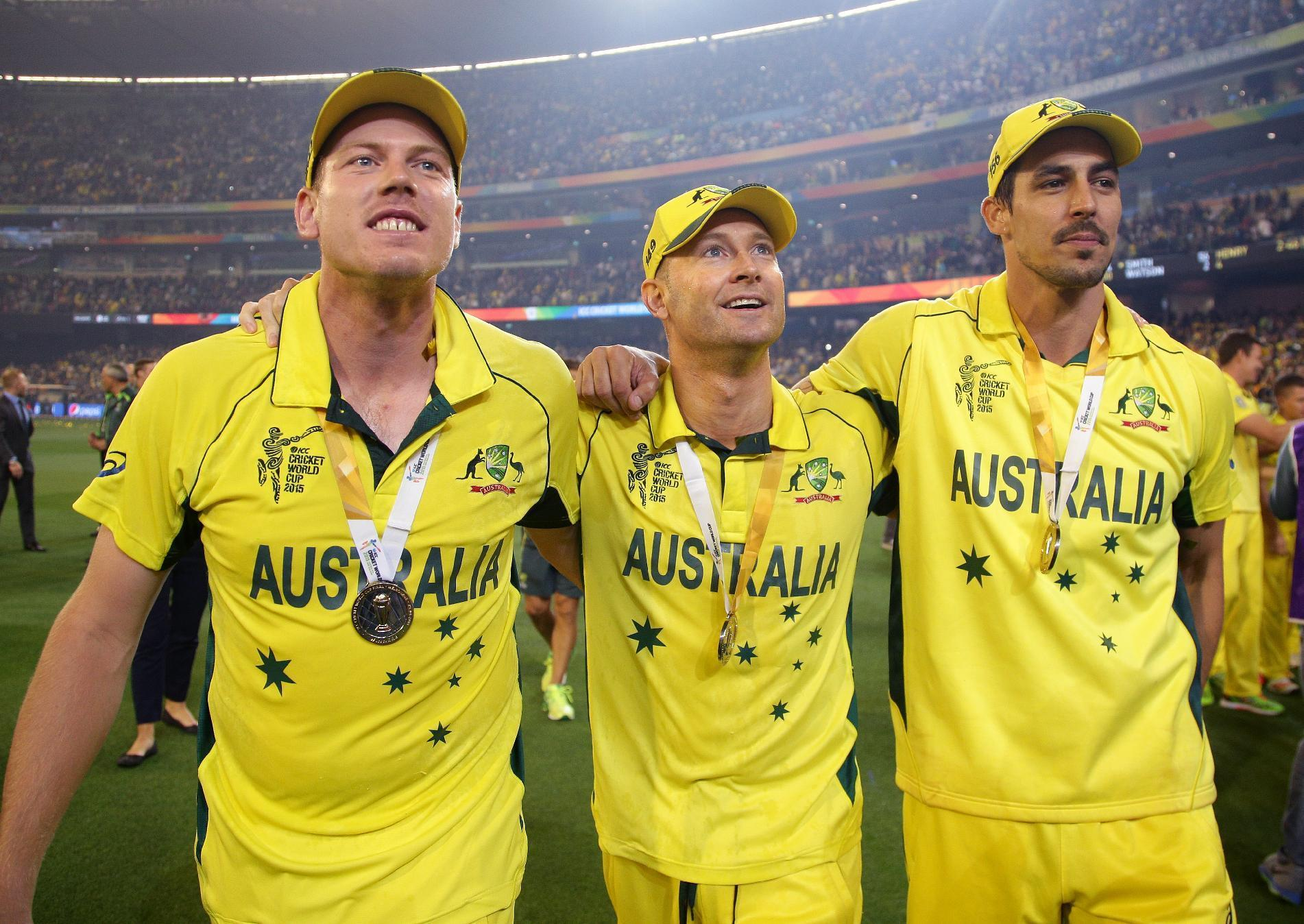 Clarke, Lehmann help Australia to 5th World Cup title
