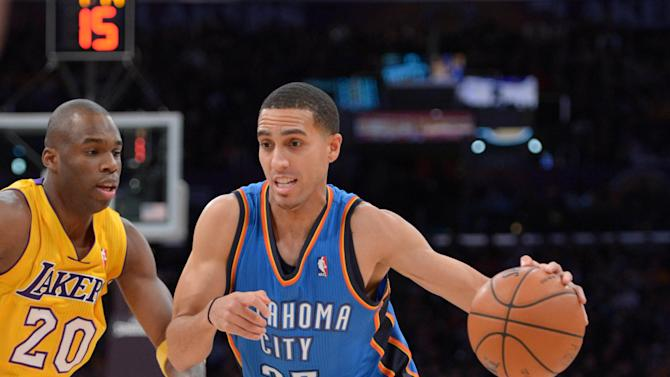 NBA: Oklahoma City Thunder at Los Angeles Lakers