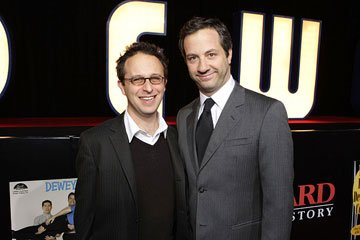 Director Jake Kasdan and producer Judd Apatow at the Los Angeles premiere of Columbia Pictures' Walk Hard: The Dewey Cox Story