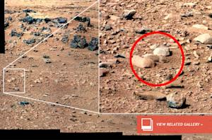 Curiosity Rover Leaving 'Mars Rat' Behind