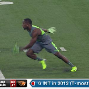 2014 Combine workout: Rashaad Reynolds