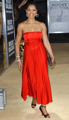 Garcelle Beauvais at the Hollywood premiere of MGM's Rocky Balboa