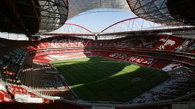 estadio da luz, stadium of light