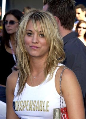 Kaley Cuoco Teen Choice Awards - 7/2/2003