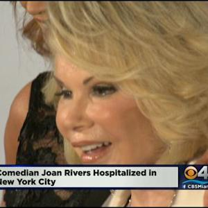 Joan Rivers Hospitalized In NY