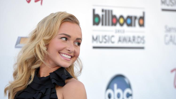 Hayden Panettiere arrives at the Billboard Music Awards at the MGM Grand Garden Arena on Sunday, May 19, 2013 in Las Vegas. (Photo by John Shearer/Invision/AP)