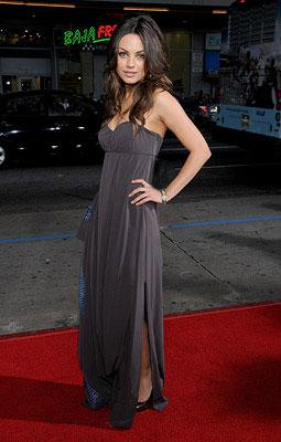 Mila Kunis at the Los Angeles premiere of Universal Pictures' Forgetting Sarah Marshall