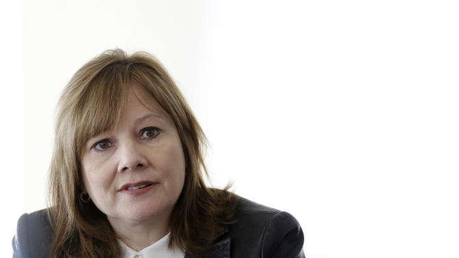 GM CEO Barra's pay package worth $14.4M this year