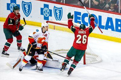 NHL scores 2015: Wild brushes back Flames, Stars begin to fade in Edmonton