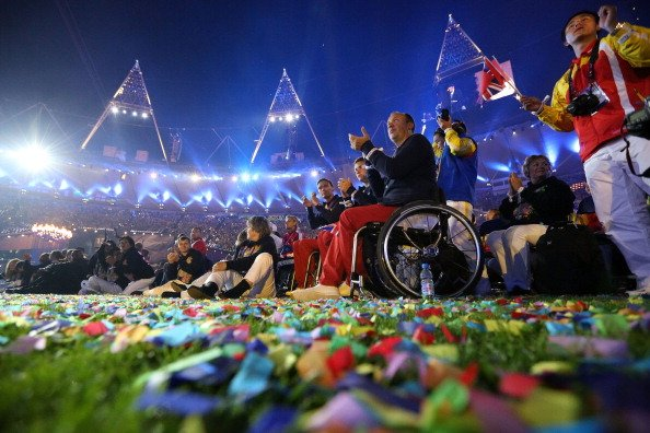 London 2012 Paralympic Games closing ceremony